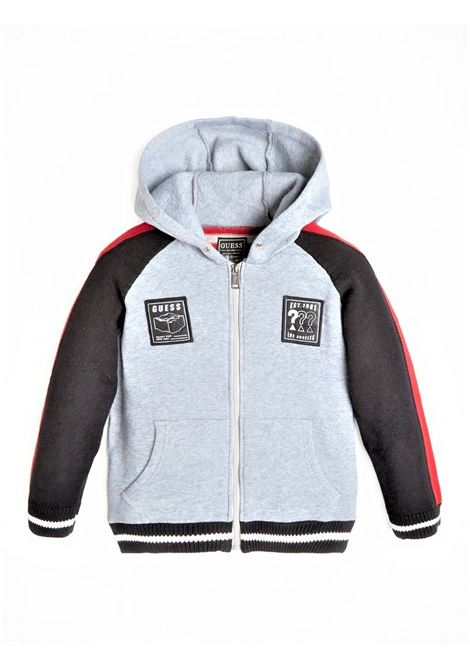 HOODED LS SWEATER W GUESS | Jersey | L0BR10Z2HH0F5R3
