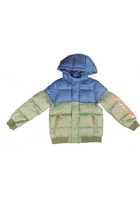 HOODED PADDED LS JACKET GUESS | Jacket | L0YL08W7S10SAR