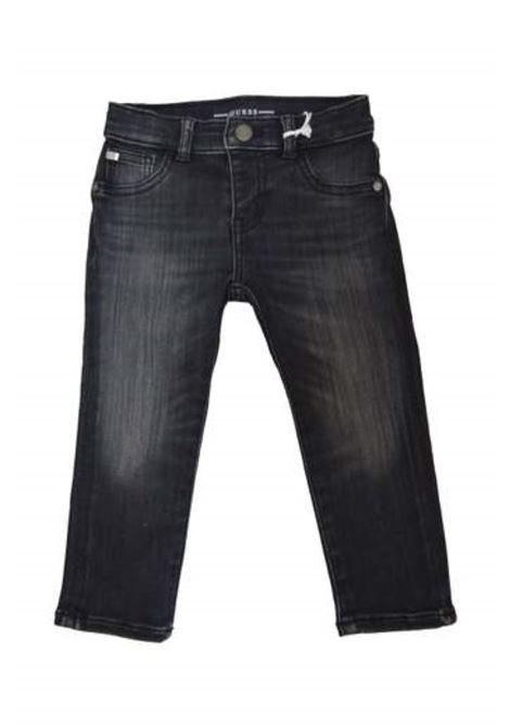 BLACK DENIM SKINNY GUESS | Pantaloni | N0BA00D465AXTRW