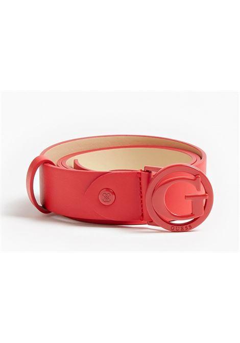 HEYDEN ADJUSTABLE PANT BELT GUESS | Belt | BW7494VIN35RED