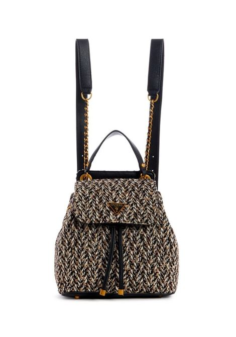 CESSILY FLAP BACKPACK GUESS | Backpack | TT67931TAN MULTI