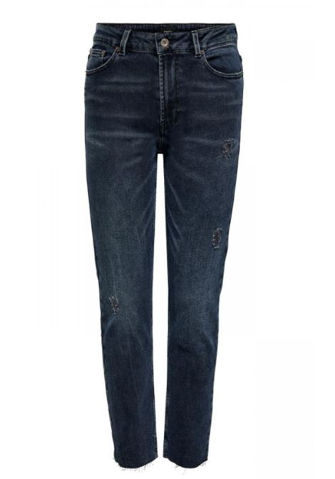 ONLY | Trousers | 15235351BLUEBLACKDENIM