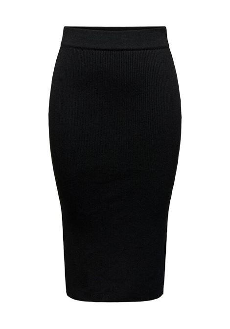 ONLPEACH PENCIL MIDI SKIRT KNT A12 BLACK ONLY | Skirt | 15241183BLACK
