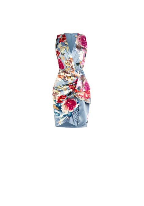 FSTYLE SHEATH DRESS RINASCIMENTO | Dress | CFC0104980003AZZURRO