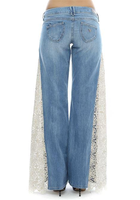 JEANS MACRAMè Guess GUESS | Jeans | W61A53D1PS1HICU