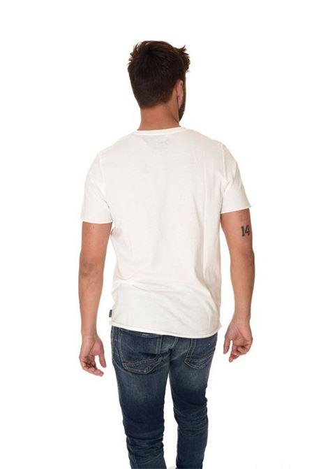 JORSPLATTERED TEE SS CREW NECK JACK&JONES | T-shirt | 12116997CLOUDDANCER