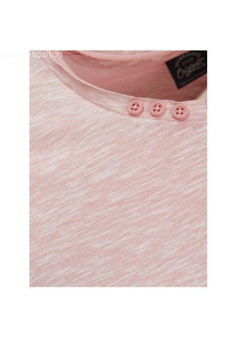 JORCONTRA TEE SS CREW NECK JACK&JONES | T-shirt | 12120893PEACHBEIGE