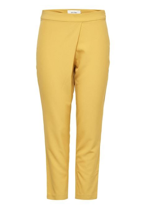 AMI MW FOLD OVER ANKLE PANT ONLY | Trousers | 15114251SAUTERNE