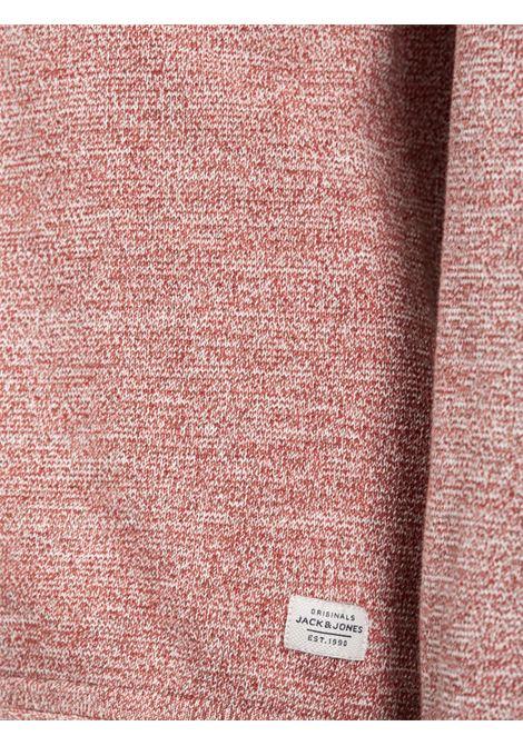 JJVCUNION KNIT CREW NECK NOOS JACK&JONES | Maglia | 12091541BRICKRED