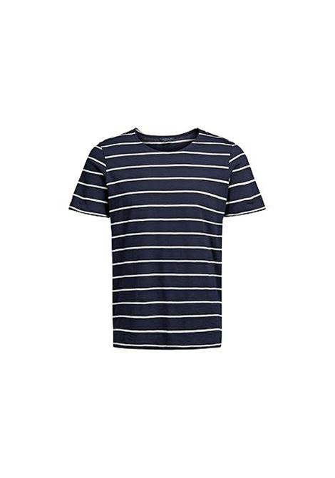 JPRHAILEY TEE SS CREW NECK JACK&JONES | T-shirt | 12121614DARKNAVY