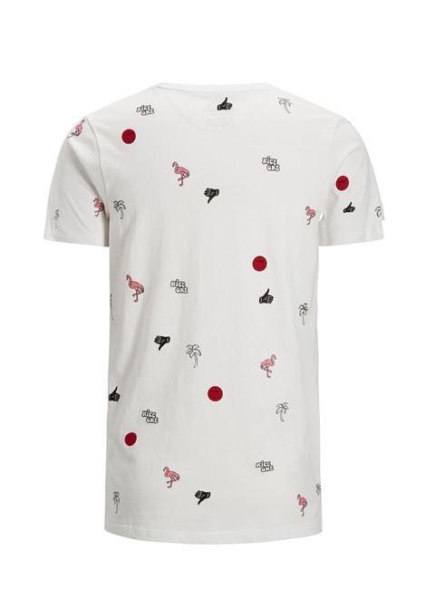 JORCONVO TEE SS CREW NECK JACK&JONES | T-shirt | 12131821CLOUDDANCER