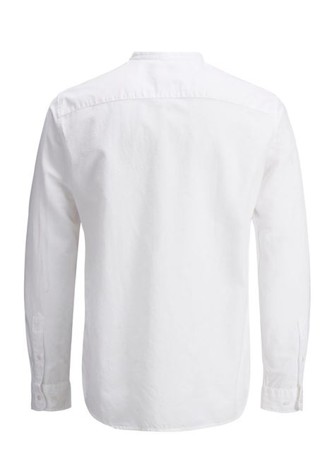 summer band tunic shirt JACK&JONES | Shirt | 12136313WHITE