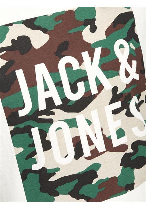 JORENZO TEE SS CREW NECK JACK&JONES | T-shirt | 12138057CLOUDDANCER