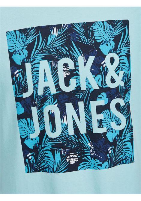 JORENZO TEE SS CREW NECK JACK&JONES | T-shirt | 12138057PLUME