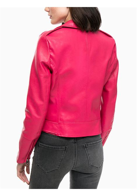 vmoxford short faux leather jacket VERO MODA | Giubbino | 10191201AZALEA