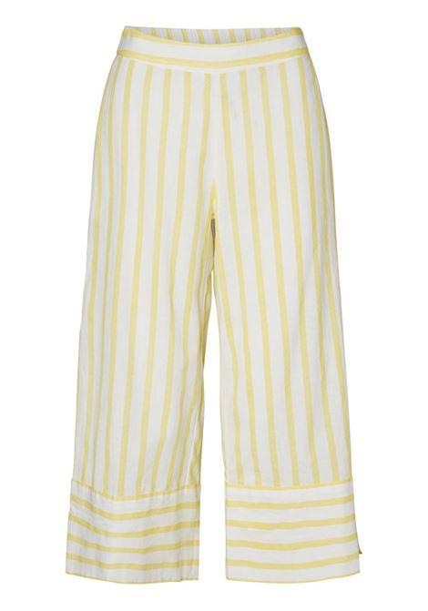 sunny strip culotte VERO MODA | Pantaloni | 10192653SSNOWWHITE
