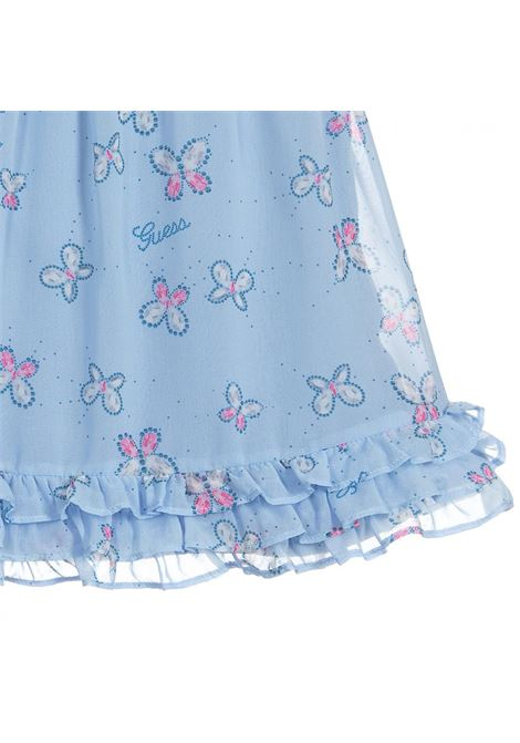CHIFFON SS DRESS GUESS | Outfit | A01K10WA2T0U157