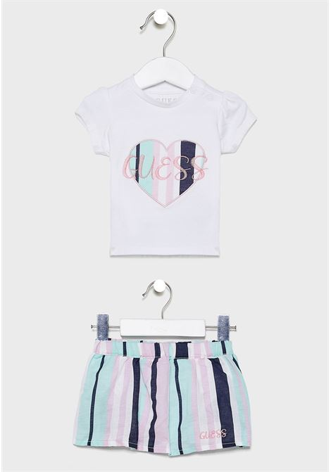 SET SS TSHIRT+SKIRT GUESS | Outfit | A02G03K6YW0TWHT