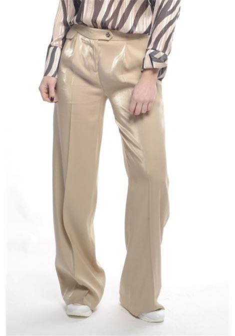 Pantalone largo RINASCIMENTO | Pantaloni | CFC0017214002BEIGE