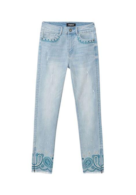 DENIM ANKLE PAYSLEY DESIGUAL | Jeans | 21SWDD355058