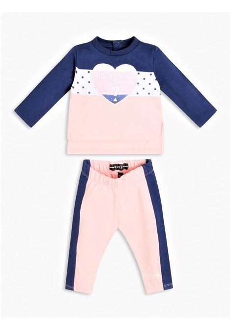 SET LS ACTIVE TOP PANTS GUESS | Outfit | A1RG11KA6R0F374