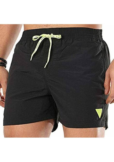 WOVEN MEDIUM GUESS   Trousers   F02T00TEL27JBLK
