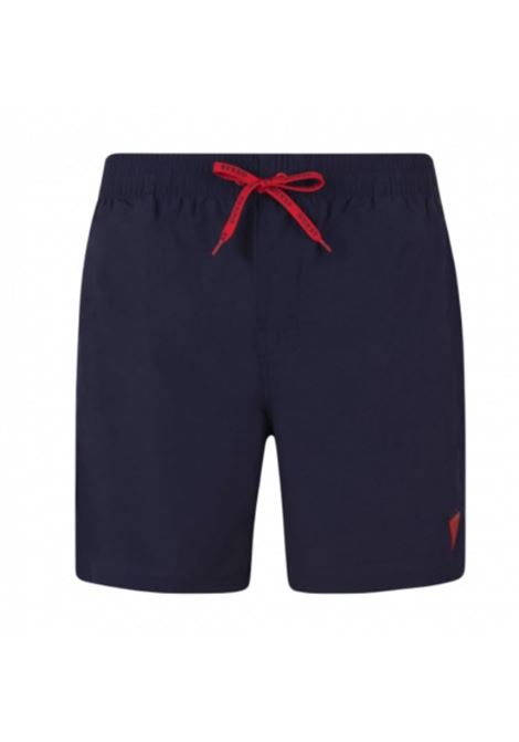 WOVEN MEDIUM GUESS | Trousers | F02T01TEL27G77G