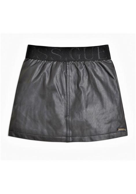 PU LEATHER SKIRT GUESS | Skirt | J1RD00WBG60JBLK