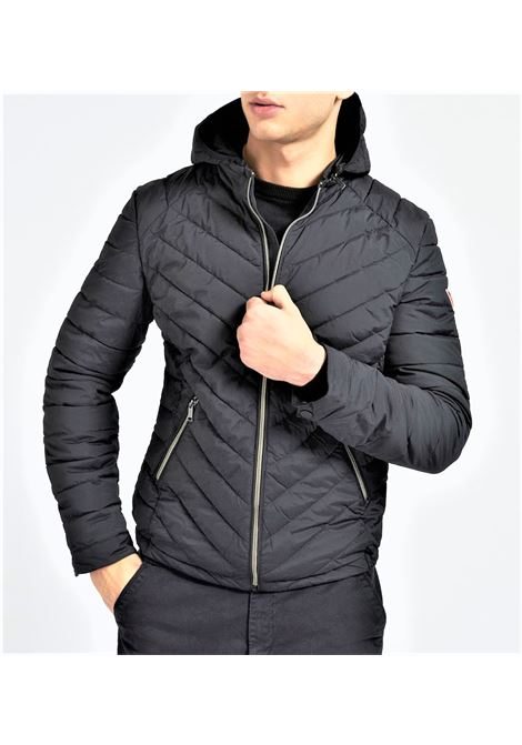 SUPER FITTED HOODED GUESS | Jacket | M1TL15WDN20JBLK