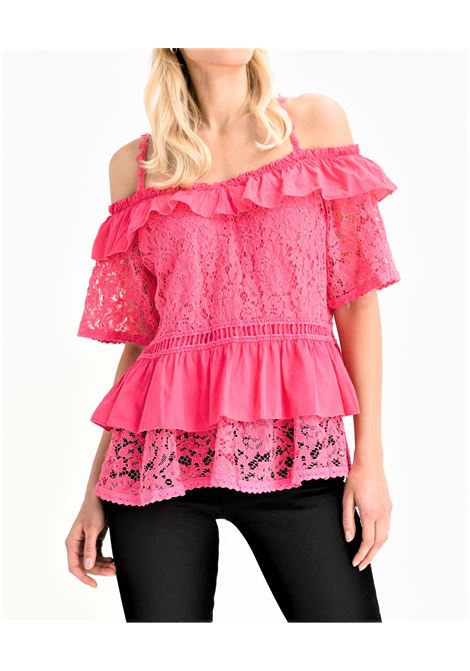 SS NEW OLIMPIA TOP GUESS | Maglia | W1GH0NWDXL0G505