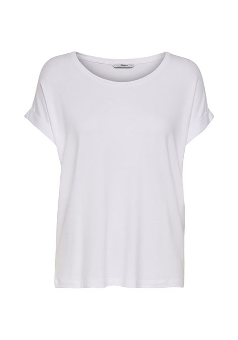 ONLMOSTER SS O NECK TOP NOOS JRS ONLY | Jersey | 15106662WHITE