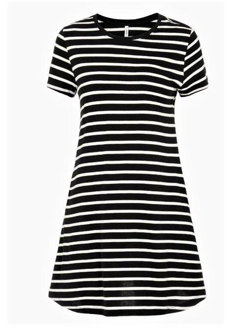 ONLNINA LIFE SS POCKET DRESS JRS ONLY | Abito | 15202971BLACKSTRIPES