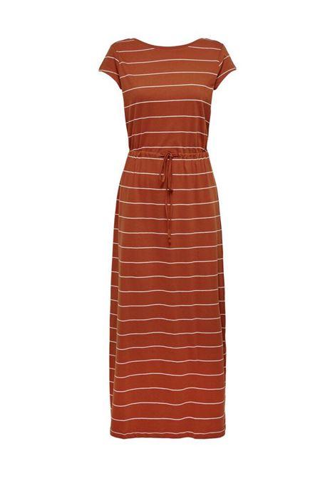 ONLMAY LIFE SS STRING MAXI DRESS JRS ONLY | Abito | 15202995ARABIANSPICESTRIPES