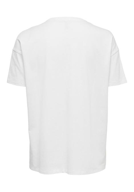ONLFIONA LIFE OVERSIZE SS BOX TOP JRS ONLY | Maglia | 15226022BRIGHTWHITE
