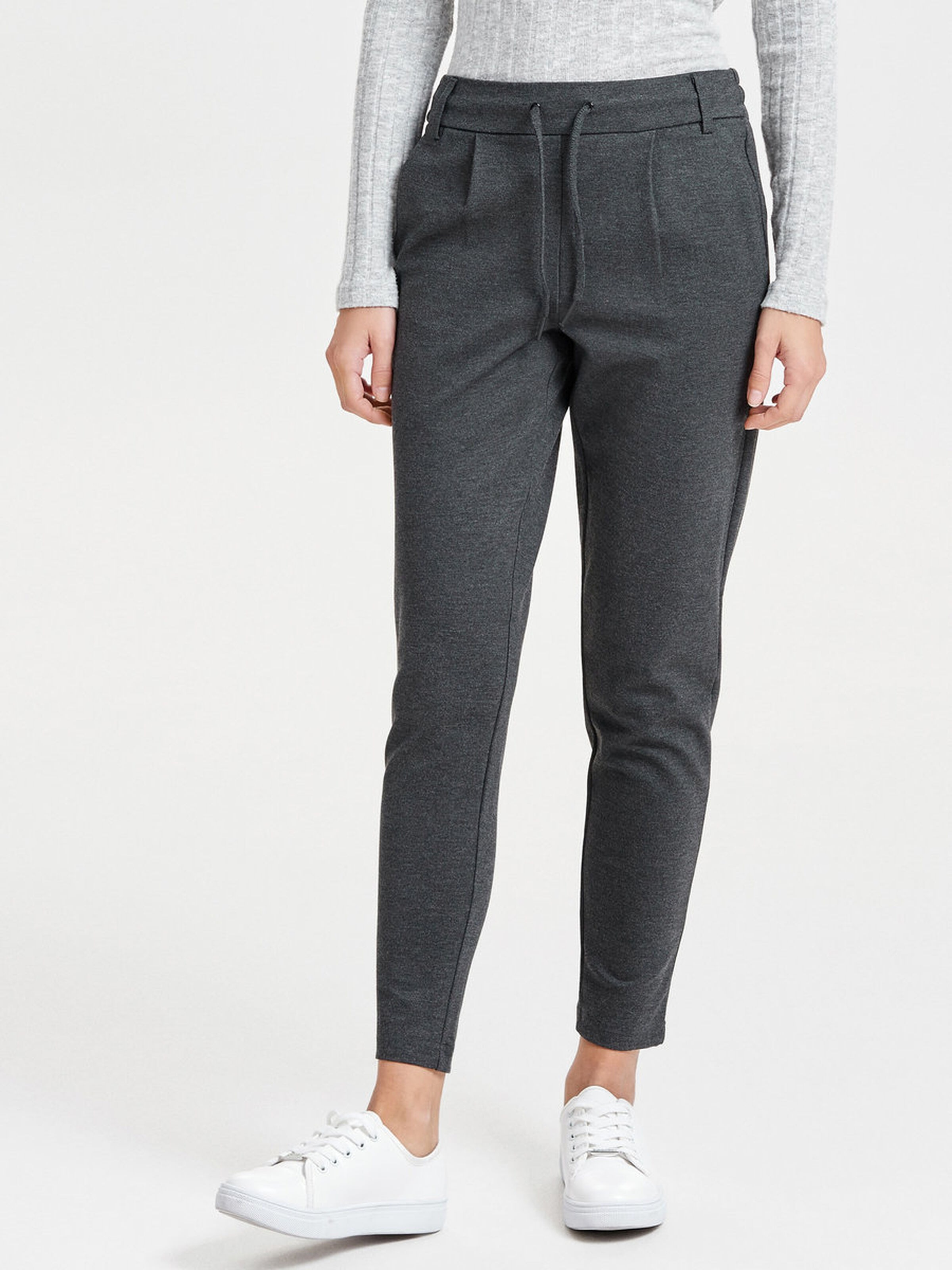 Pantalone con laccio ONLY | Pantalone | 15115847DARK GREY MELANGE