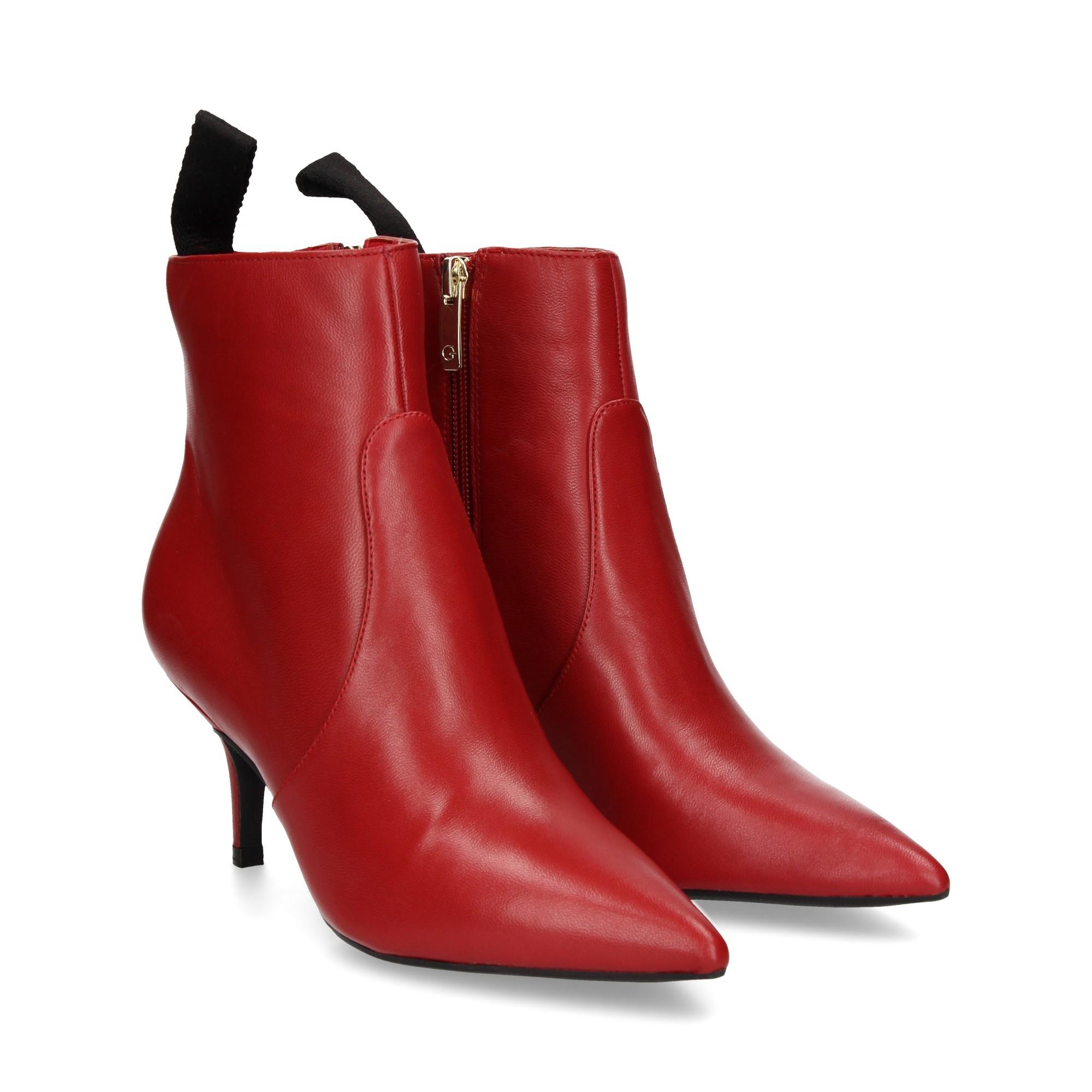 Shootie Deidra GUESS FOOTWEAR | Scarpe | FLDE14 LEA09LRED