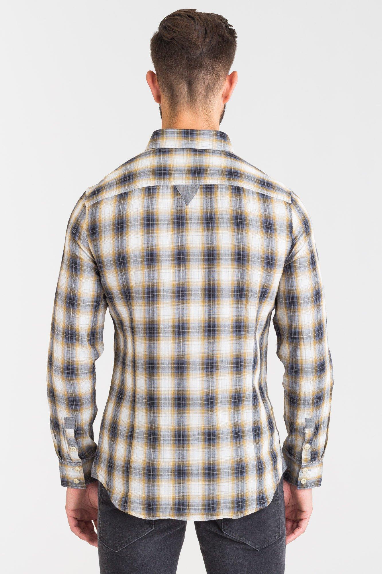 Camicia fantasia quadri GUESS | Camicia | M83H03 WACF0LC12