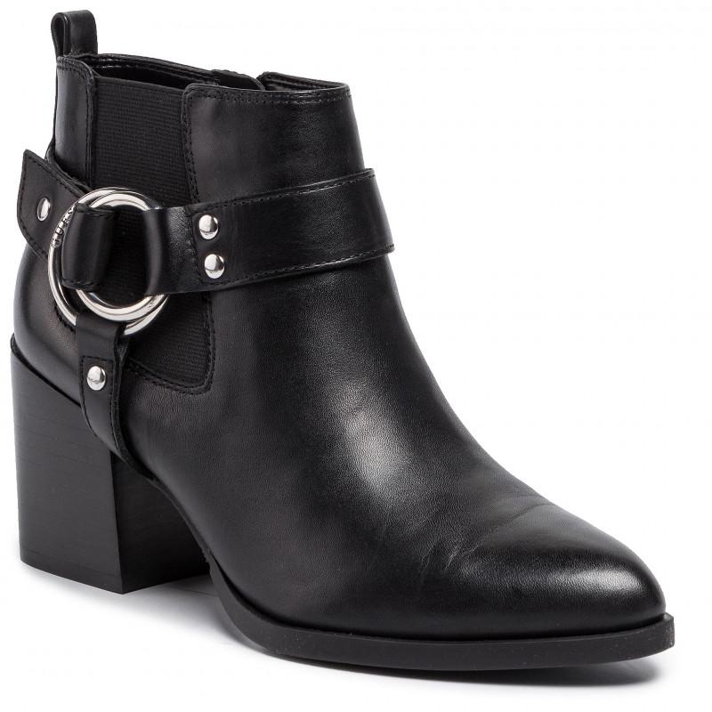 Stivaletto vachele GUESS FOOTWEAR | Scarpe | FL8VAC LEA09BLACK