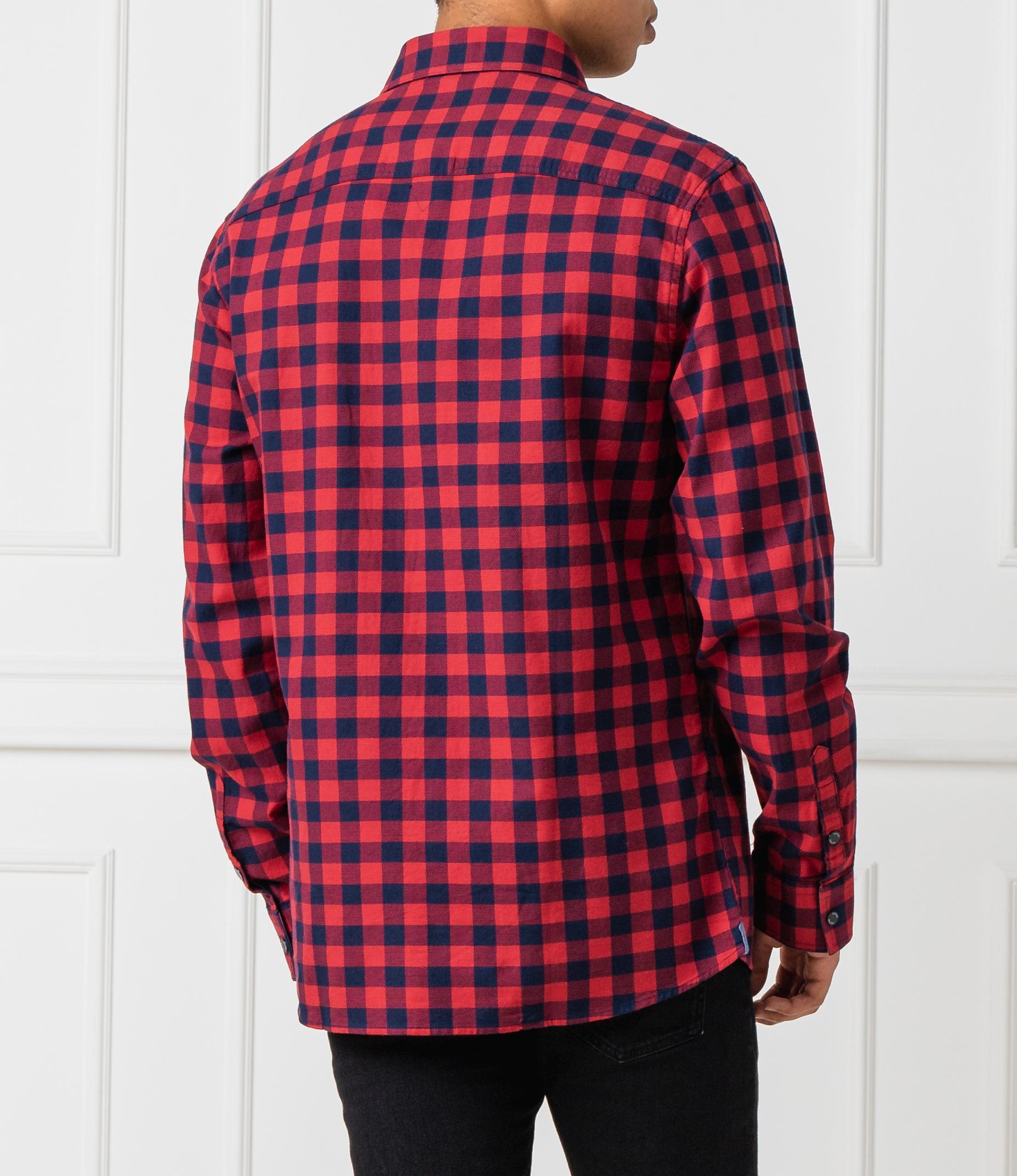 Camicia fantasia quadri GUESS | Camicie | M93H08 WBRM0LCH5