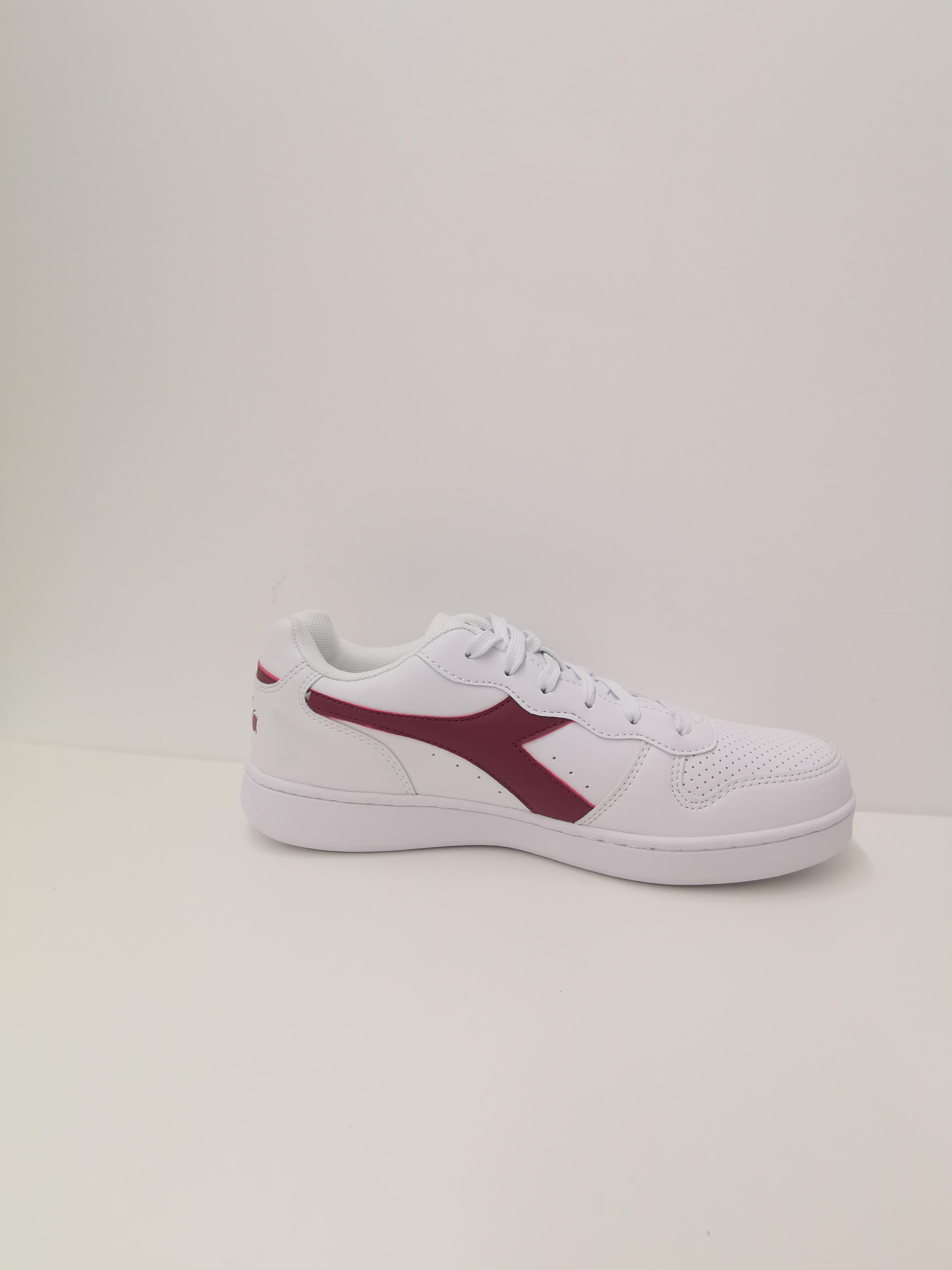 Sneaker playground DIADORA | Scarpe | 101.172319C4031 BIANCO/VIOLA PRUGNA