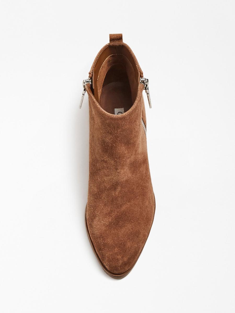 STIVALETTO VALONY PELLE SCAMOSCIATA GUESS FOOTWEAR | Scarpe | FL7VAY SUE10TAUPE
