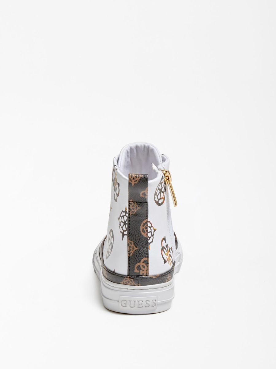 GUESS FOOTWEAR |  | FL8LEK FAL12WHITE