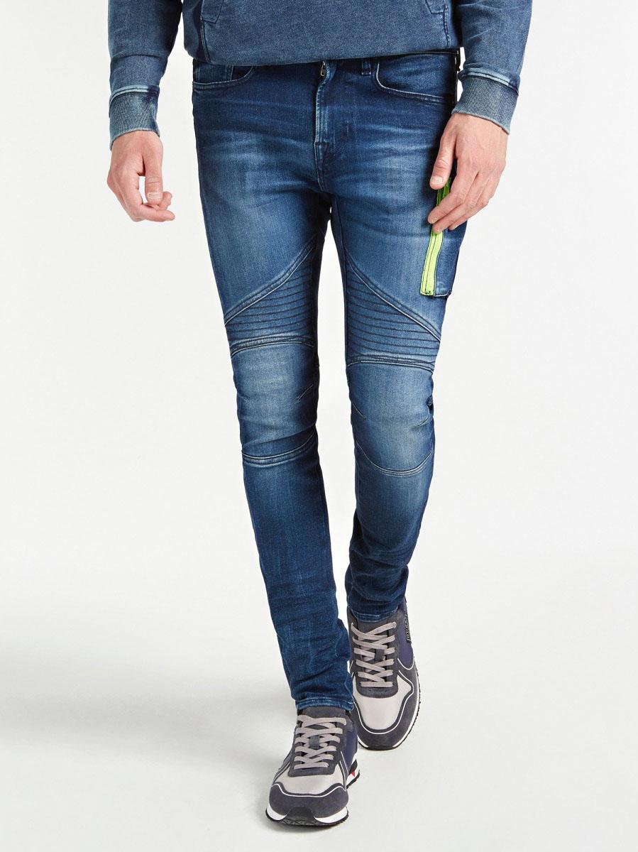 JEANS SKINNY CERNIERA GUESS | Jeans | M0YA28 D42Y1EGNS