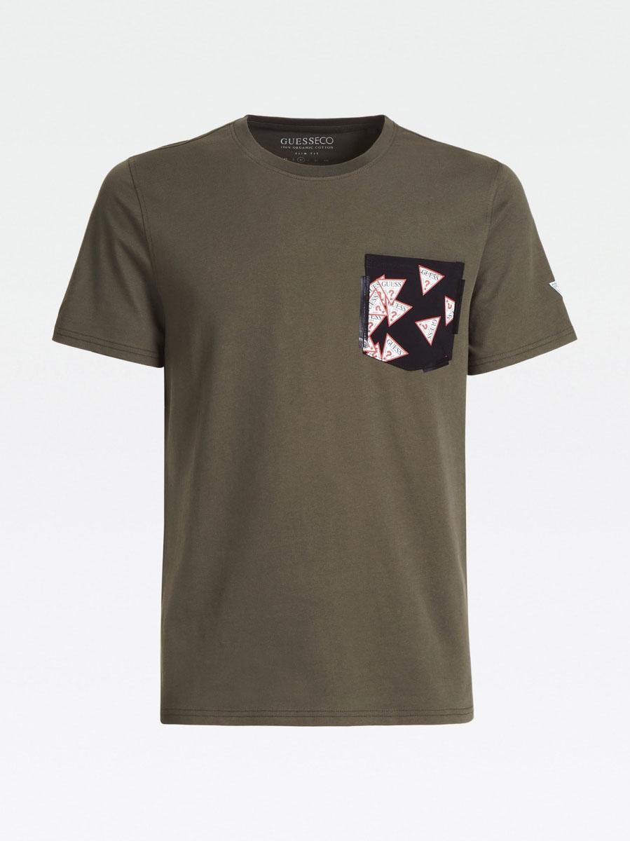 T-SHIRT TASCA STAMPATA GUESS | T-shirt | M0YI59 I3Z11G8X8