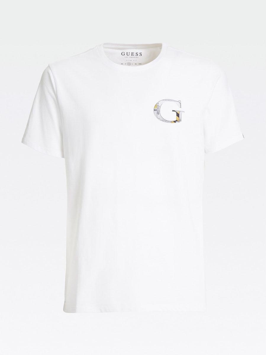 T-shirt logo GUESS | T-shirt | M0YI86 J1300TWHT