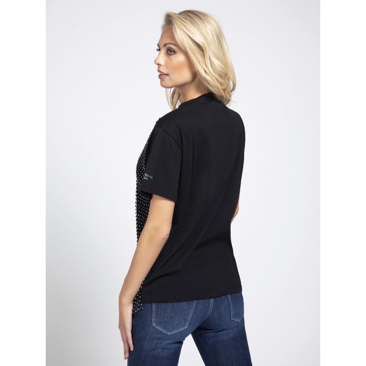 T-shirt con applicazioni GUESS   T-shirt   W0BI0L K7DN0JBLK