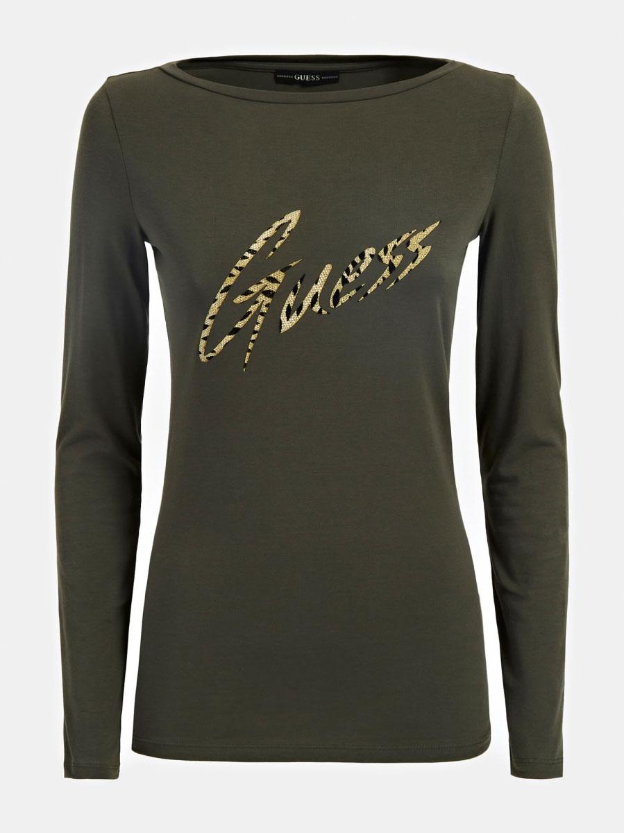 T-SHIRT LOGO GLITTER GUESS | T-shirt | W0BI89 J1300G827