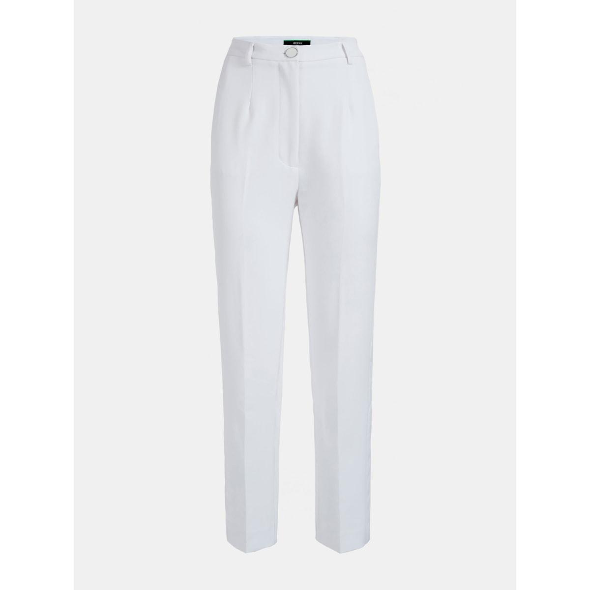 PANTALONE CRÊPE STRETCH GUESS | Pantalone | W0YB73 WB4H2TWHT