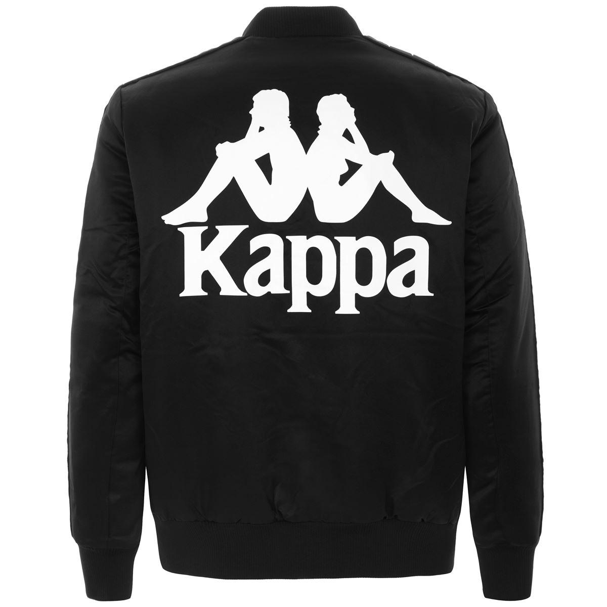 Kappa      304RMA0BY7 BLACK-WHITE