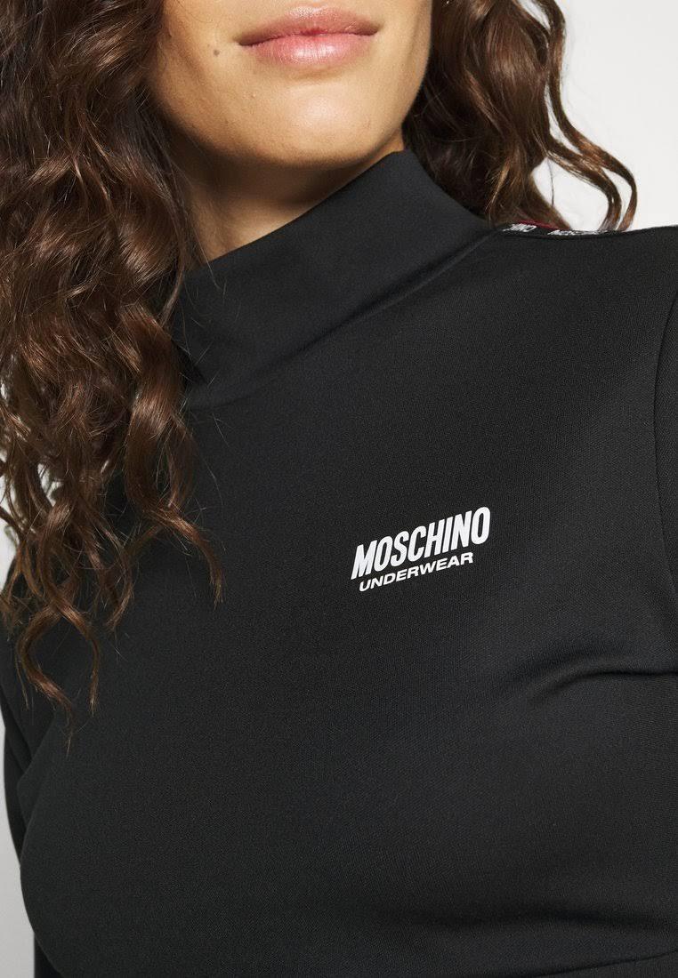 FELPA CROPPED MEZZO COLLO MOSCHINO   Maglie   1742 9020A0555